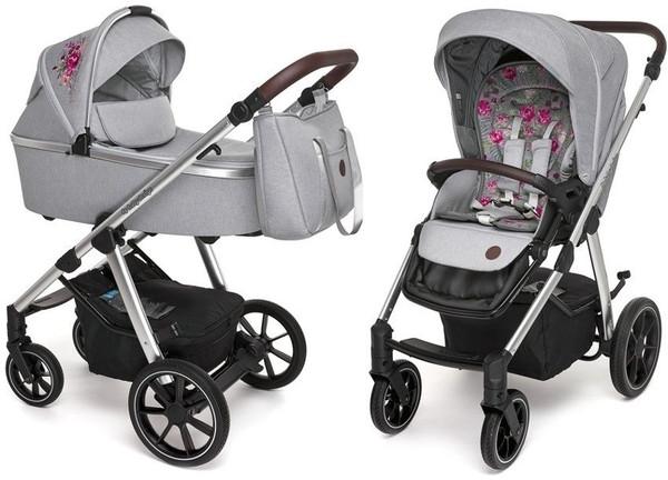 Универсальная коляска 2 в 1 Baby Design Bueno Gray (203565)