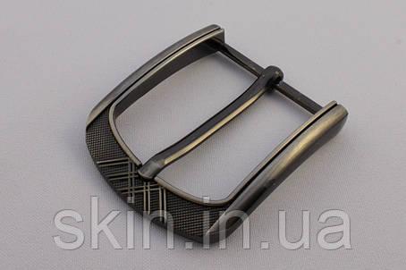 Пряжка ременная, ширина - 40 мм, цвет - серый, артикул СК 5697, фото 2
