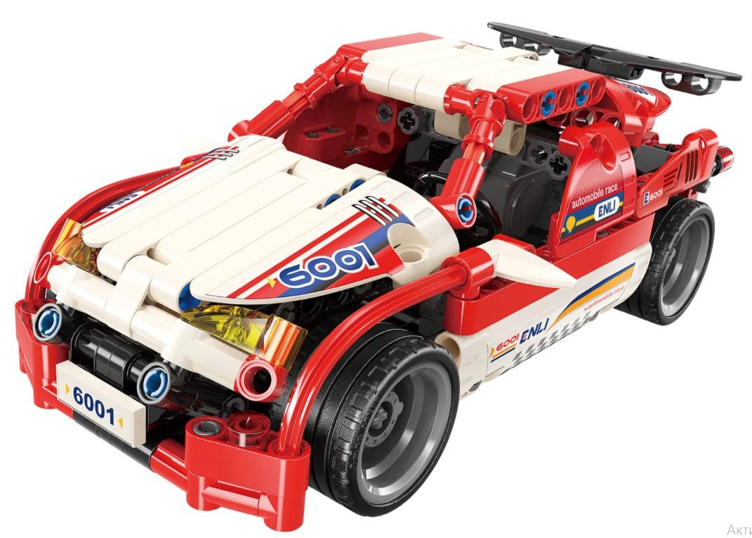 """Конструктор Qman 6001 """"Гоночный автомобиль Scarlet Shadow Canis"""" 257 деталей"""