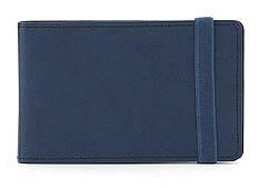 Удобная женская карманная визитница art.4120 Синий