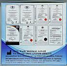 Маска медицинская одноразовая 3-х слойная нестерильная на резинках голубая/ 3ЕЕЕ, фото 7