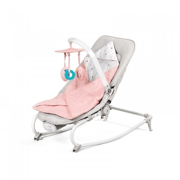 Шезлонг-качалка Kinderkraft Felio Pink KKBFELIPNK0000 (00-00158397)
