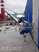 Шнековый транспортер с греющим кабелем