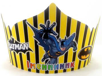 """""""Бетмен: Полоска"""" - Корона Без надписи"""