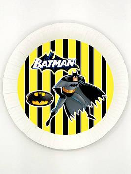 """""""Бетмен: Полоска"""" - Тарелочки 18 см."""