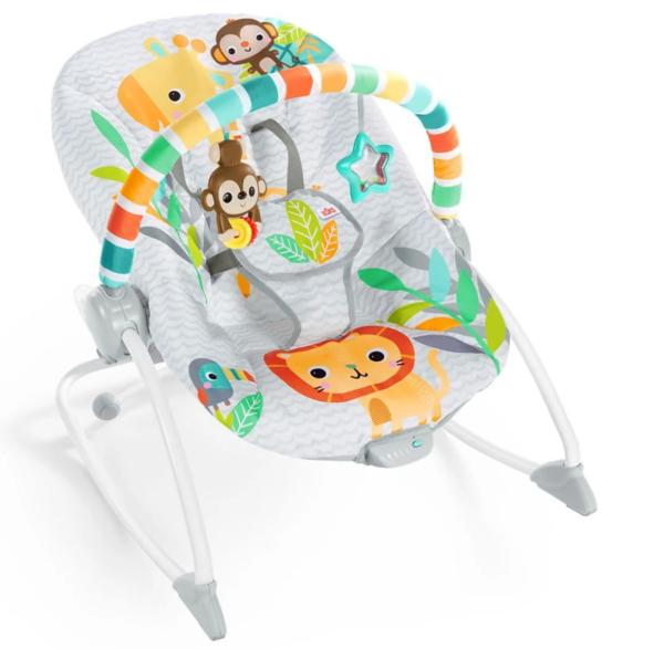 Кресло-шезлонг Bright Starts Safari (12323)