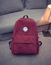 Молодежные вельветовые рюкзаки You are my sunshine, фото 2