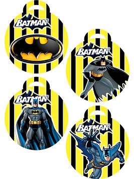 """""""Бетмен: Полоска"""" - Медальки"""