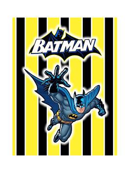 """""""Бетмен: Полоска"""" - Наклейка Сок 6,5*8,5 см."""