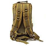 Тактичний штурмової військовий рюкзак 30л Tactic (SWAT-3P-mult), фото 4