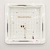 Настінно-стельовий світлодіодний світильник LUMINARIA DLS 20W 220V IP20 5500K, фото 4