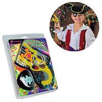 """Набор для праздников и карнавалов """"Пиратский Новый год"""", Пиромания, хлопушка,шарики,праздник,Игрушки новые"""