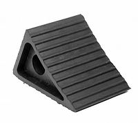 Упор противооткатный легковий (160х110х130) (черевик) Резина 1шт.