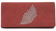 Классический женский интересный кошелек из качественной эко кожи TAILIAN art.6232 красный, фото 1