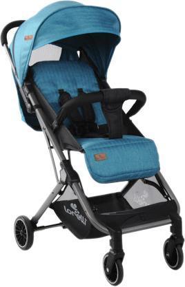 Прогулочная коляска Lorelli Fiona Sea Blue, голубой с черным (20921)