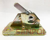 Усиленный пружинный зажим (Чироз) оцинкованный 110 х 75 толщина 4 мм