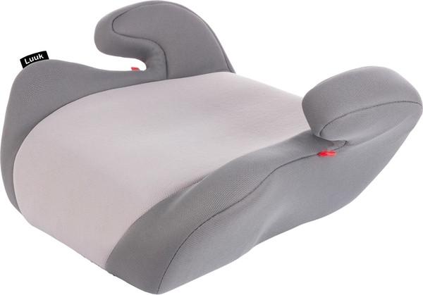 Автокресло-бустер Lionelo Luuk Grey, серый (LO.A.LU02)