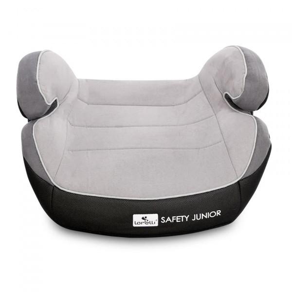 Автокресло-бустер Lorelli Safety Junior Fix (15-36 кг), серый (22375)