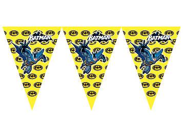 """""""Бетмен: Знак"""" - Вимпел Трикутники, 15 прапорців."""