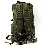 Тактический штурмовой военный рюкзак 30л Silver Knight Tactic (swat-3Р-olive), фото 2