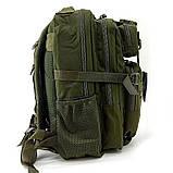 Тактический штурмовой военный рюкзак 30л Silver Knight Tactic (swat-3Р-olive), фото 3