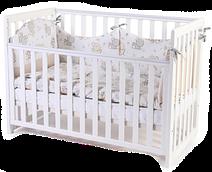 Детская кроватка Верес Соня ЛД-13, белый (13.1.1.20.06)