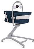 Кроватка-стульчик Chicco Baby Hug Air 4в1, синий (79193.39.00)