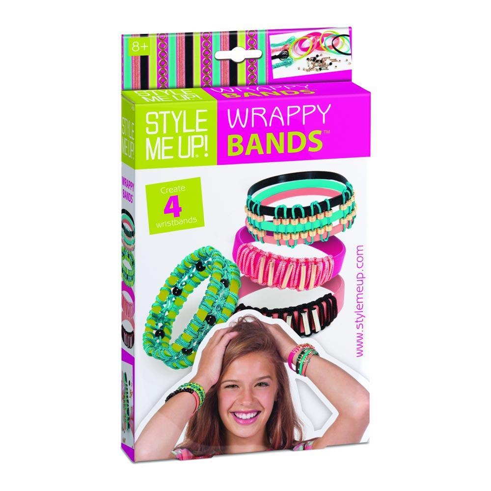 Набор для изготовления браслетов Wrappy Bands. Wooky 00559
