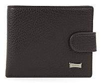 Мужской стильный классический кошелек с искусственной кожи FUERDANNI art. 4355-0001 черный Коричневый