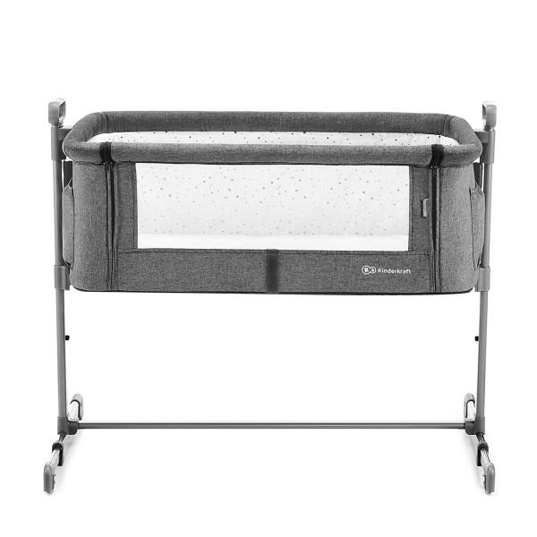 Приставная кроватка-люлька Kinderkraft Neste Gray Melange KKLNESTGRYM000 (00-00158410)