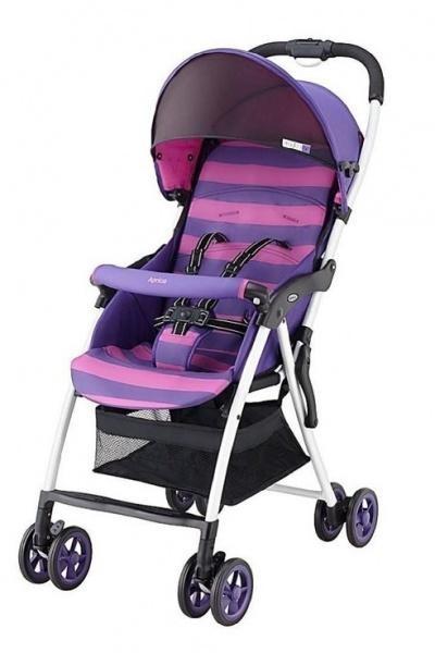 Прогулочная коляска Aprica Magical Air, фиолетовый с розовым