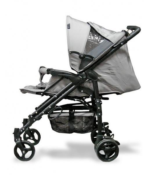 Коляска-трость ABC Design PRIMO Pearl, серый