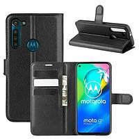 Чехол Fiji Luxury для Motorola Moto G8 Power книжка черный