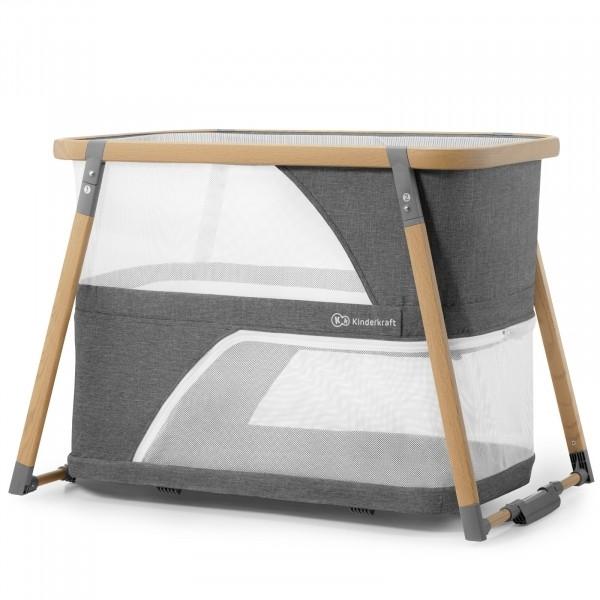 Кровать-манеж 4 в 1 Kinderkraft Sofi KKLSOFIGRY0000 (00-00158099)