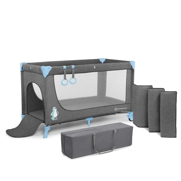 Кровать-манеж Kinderkraft Joy Blue KKLJOYBLU00000 (00-00158379)