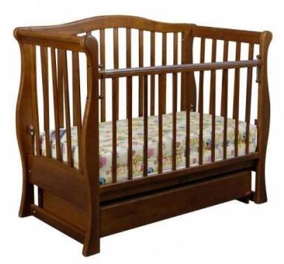 Кроватка-диван Laska-M Viva Premium, орех (13321)