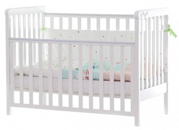 Детская кроватка Верес Соня ЛД-12, белый (12.3.1.7.06)