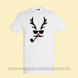 """Чоловіча футболка з принтом """"Олень"""""""