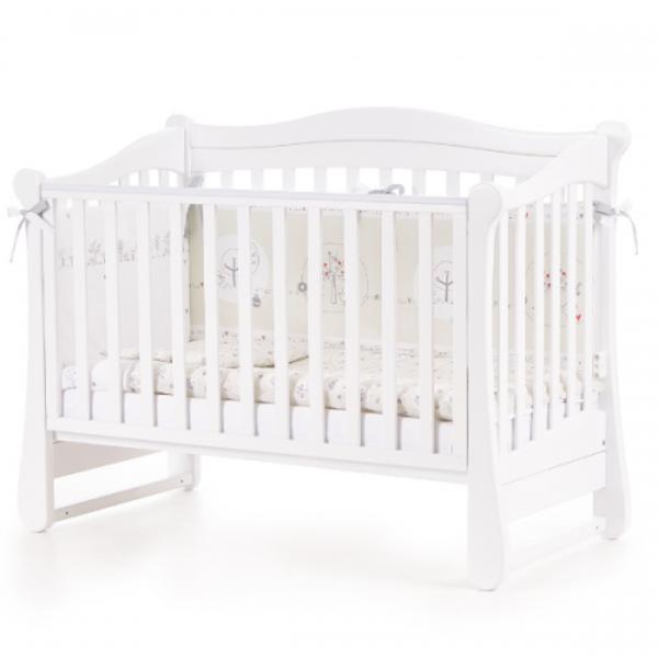 Детская кроватка Верес Соня ЛД-18, белый (18.3.1.1.06)