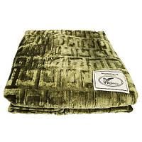 Плед Koloco бамбуковый 200*210 хаки