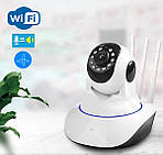 Камера видеонаблюдения IP поворотная Adna Smart Camera Y11 Wi-Fi камера для дома и офиса, фото 2