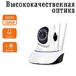 Камера видеонаблюдения IP поворотная Adna Smart Camera Y11 Wi-Fi камера для дома и офиса, фото 4