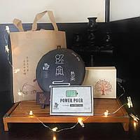 Чайный сет «Набор Пуэров» премиум в подарочной сумке