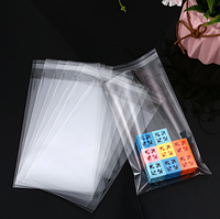 Полипропиленовый пакет с липким клапаном 10 x 17 см (уп-100 шт)