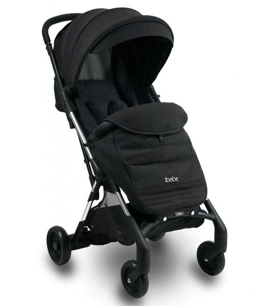 Прогулочная коляска Ibebe i-stop Mini 01, черный (ib-mi-01)