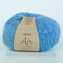 Пряжа Drops Air Uni (колір 16 blue)