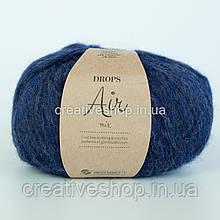 Пряжа Drops Air Mix (цвет 09 navy blue)