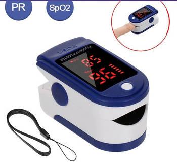 Пульсоксиметр электронный LYG-88 медецинский для измерения пульса и сатурации крови