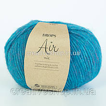 Пряжа Drops Air Mix (колір 11 peacock blue)