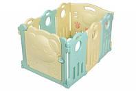 Детский манеж-ограждение Same Toy Aole Милый мишка, 6 секций (AL-W170901), фото 1